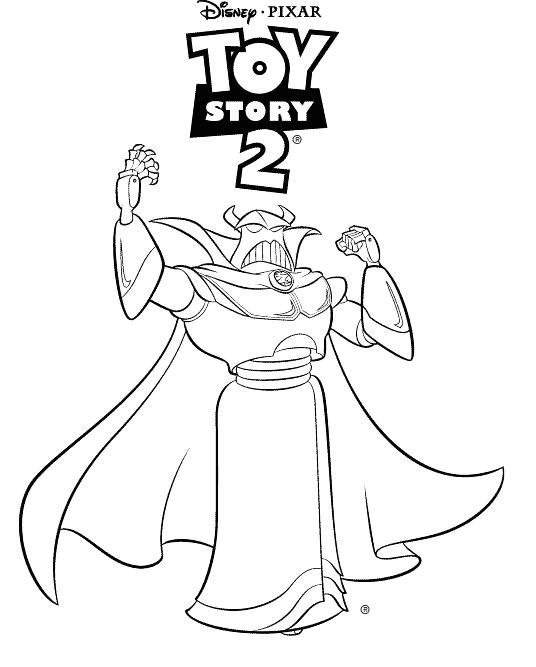 simple buzz lightyear coloring pages - photo#24