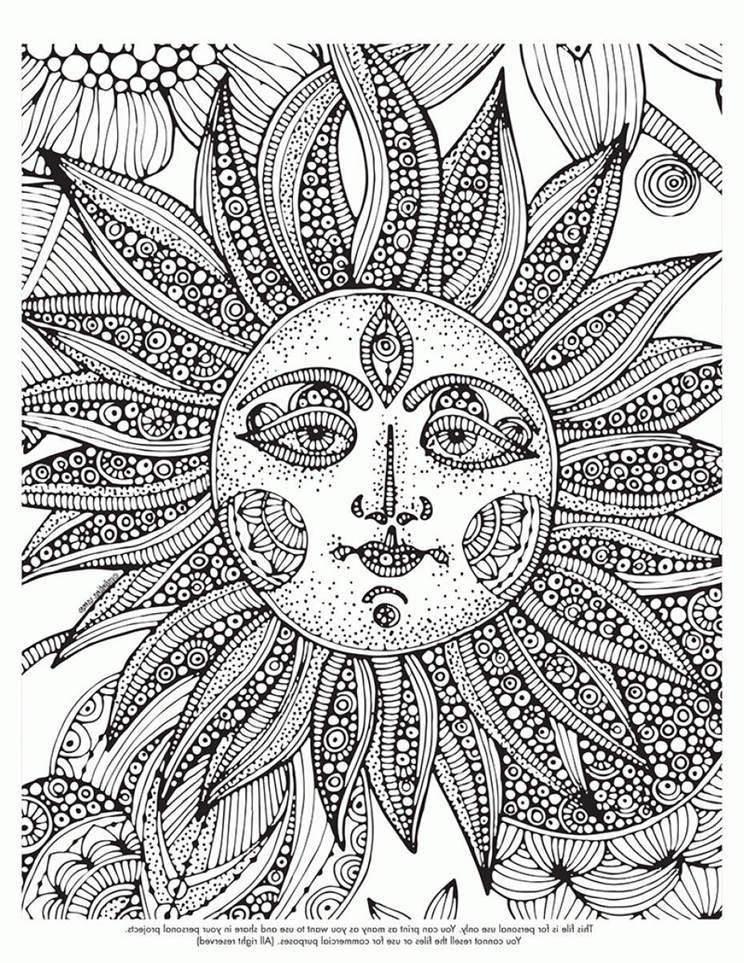 Trippy Coloring Pages Easy Outline 113 Free Printable Coloring Pages