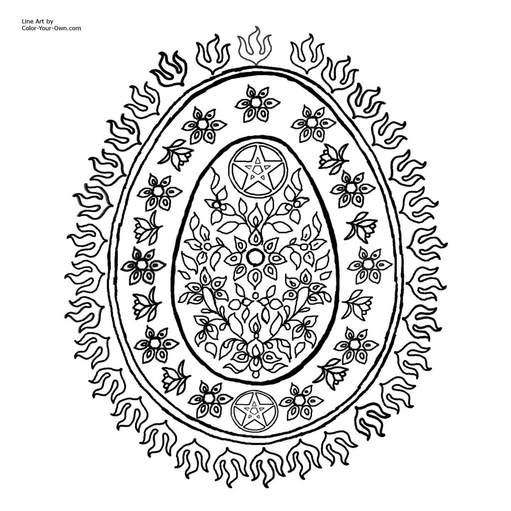 photograph relating to Printable Wiccan Coloring Pages referred to as Grownup Pagan Coloring Web pages Wiccan Drawing - No cost Printable