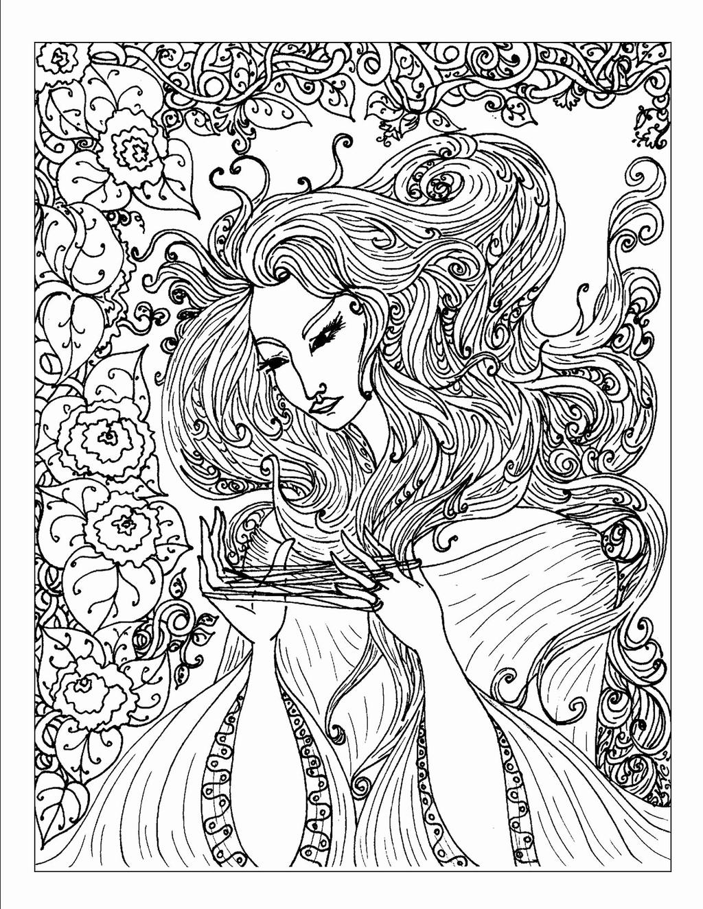Adults Nature Coloring Pages Unique Lofty - Free Printable Coloring ...