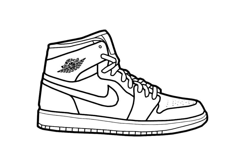 Air Jordan Coloring Pages Limited
