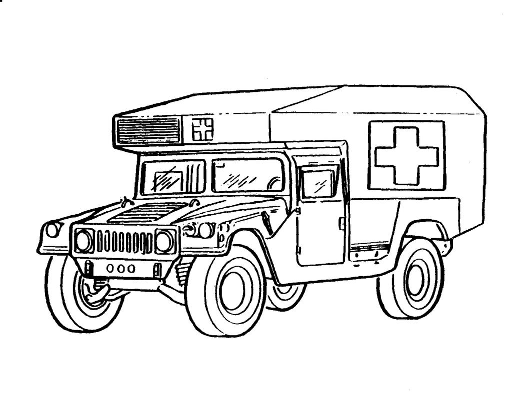 army coloring pages truck lineart free printable coloring pages. Black Bedroom Furniture Sets. Home Design Ideas