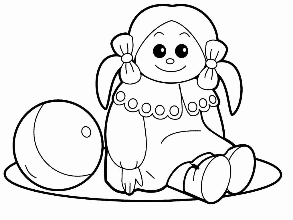 Baby Doll Coloring Pages Valuable Lol Hand Drawing Free Printable