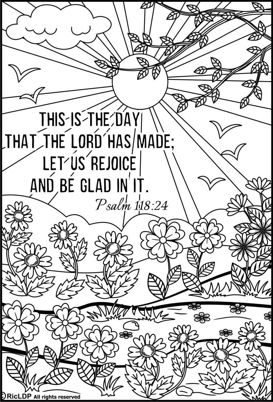 Bible Scroll Coloring Pages ing
