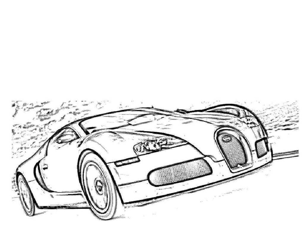 Bugatti Coloring Pages Kids Coloring Sheets Free Printable