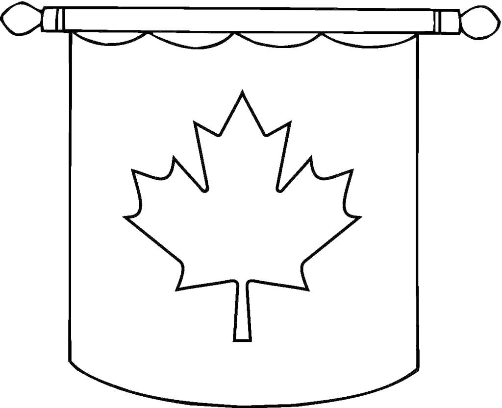 photograph regarding Printable Canadian Flag known as Canada Flag Coloring Internet pages Putting Canadian - Cost-free Printable