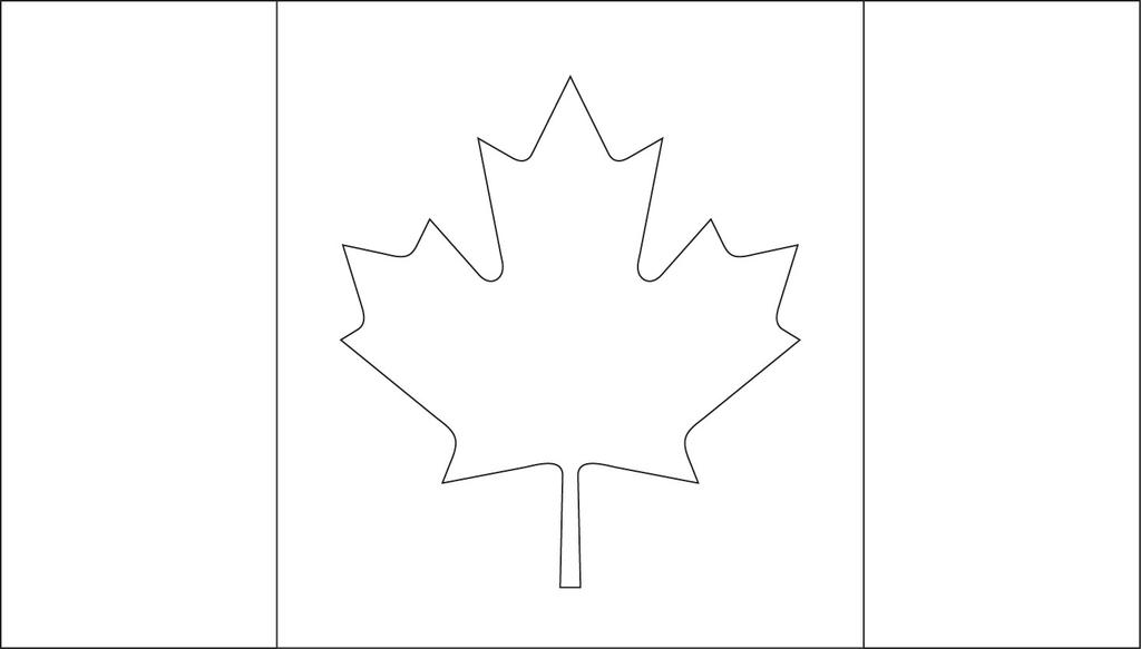 graphic relating to Printable Canadian Flag identify Canada Flag Coloring Webpages Reported Canadian - Totally free Printable