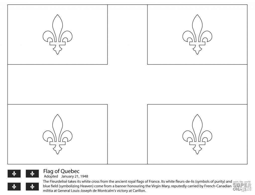 Canada Flag Coloring Pages Revolutionary Survival Free Printable