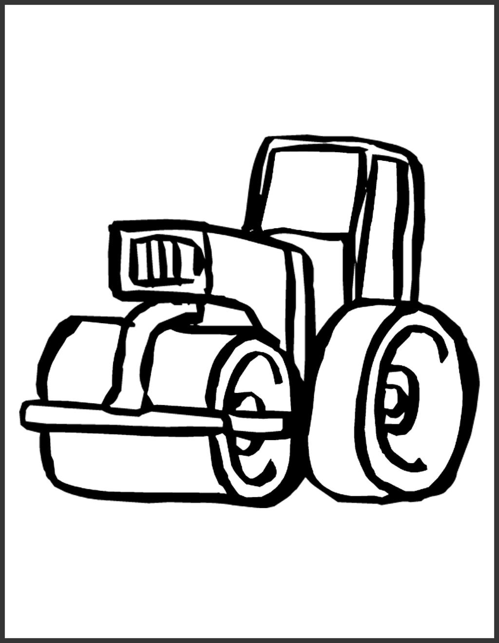 Free Construction Equipment Coloring Pages Fascinating Exploit printable