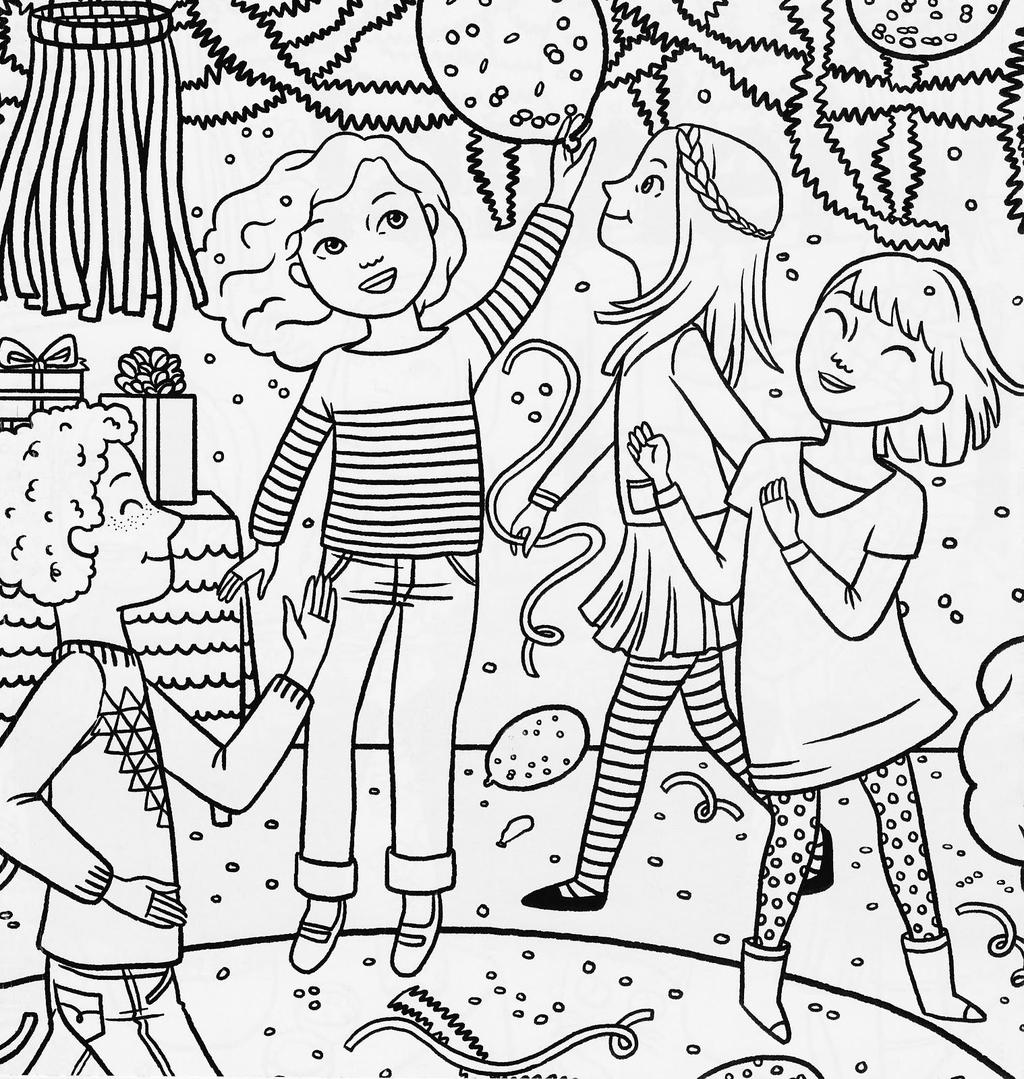 Cute American Girl Coloring Pages Doll Getings Free Printable