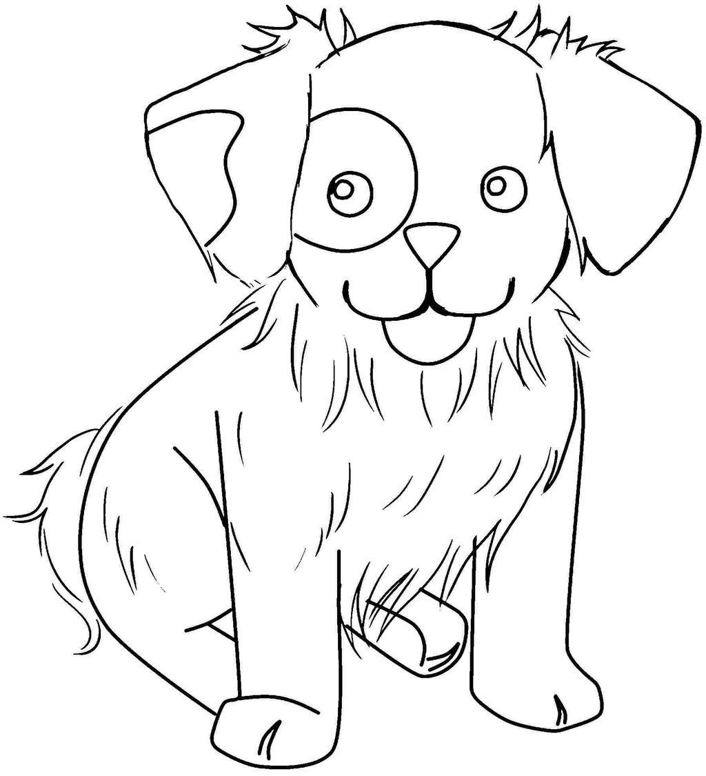 Dachshund Coloring Pages Animal Lovely Drawing Pictures Free