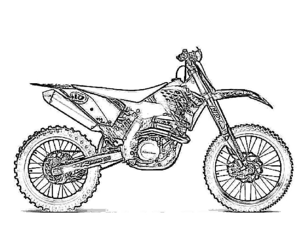 Dirt Bike Coloring Pages Cpaaffiliate Info for Kids - Free Printable ...