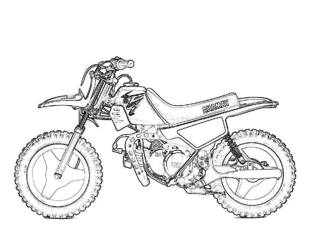Dirt Bike Coloring Pages Fitspiration Pinterest Coloring ...