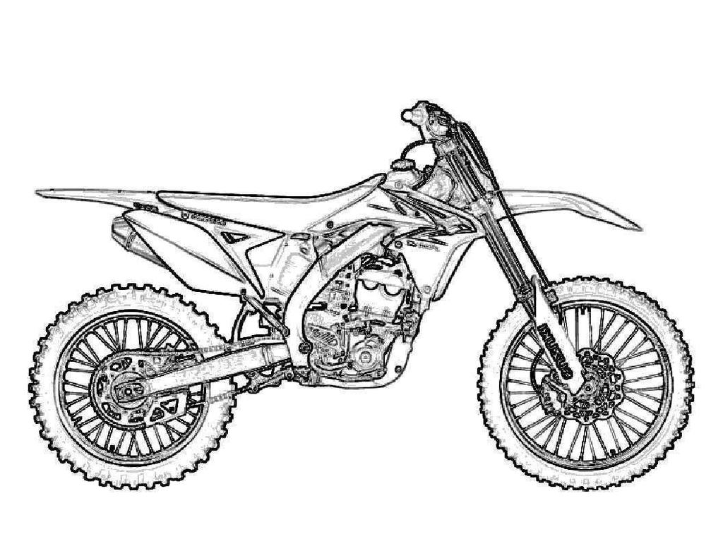 Dirt Bike Coloring Pages Trend Fierce Line Drawing - Free ...