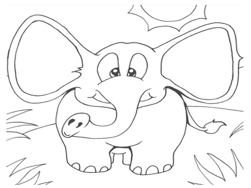 Elmer The Elephant Coloring Pages Kids Characters Free Printable