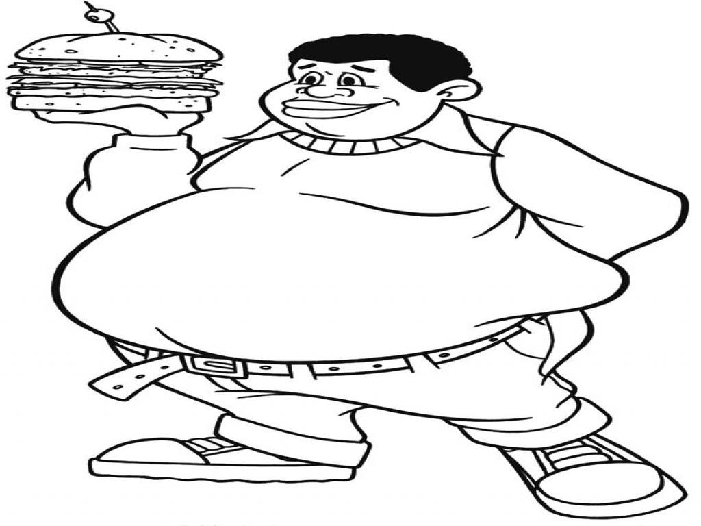 Free Fat Albert Coloring Pages 969 Lineart printable