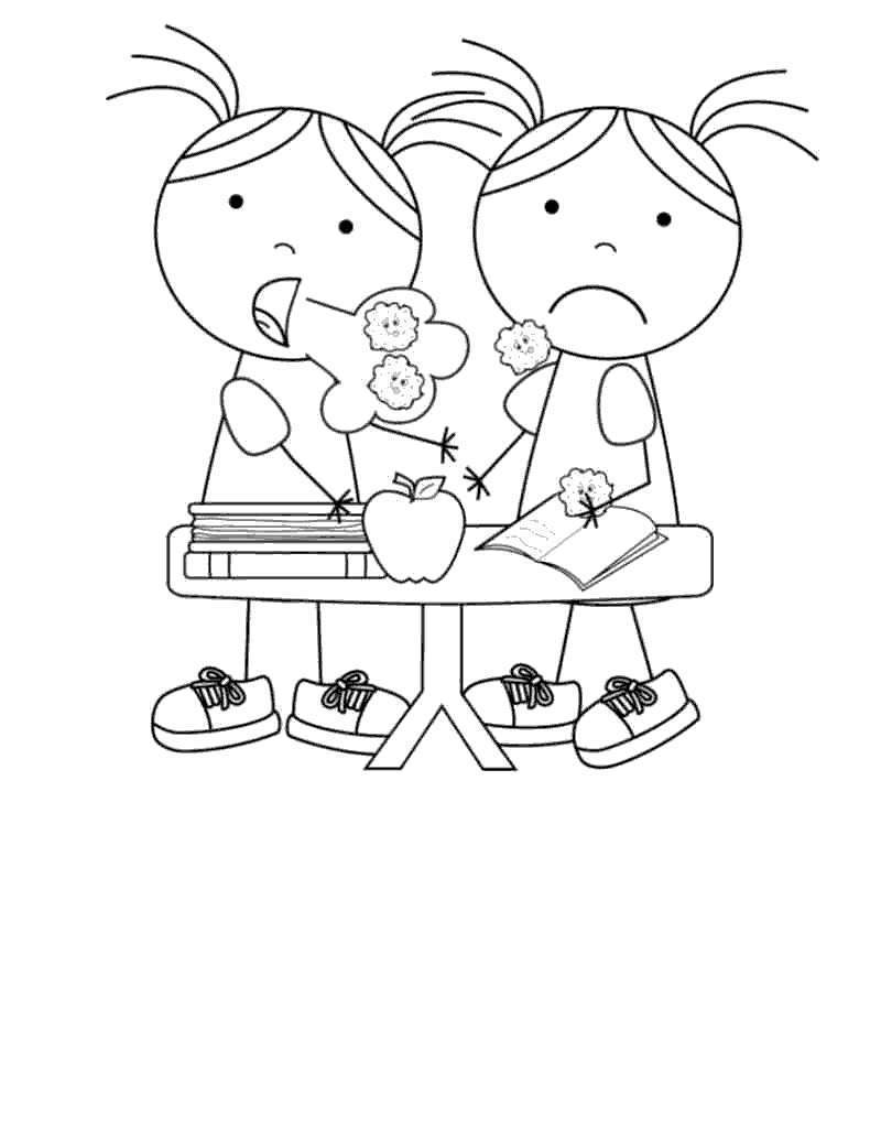 Feel Better Coloring Pages Banatmodrengames For Kids Free