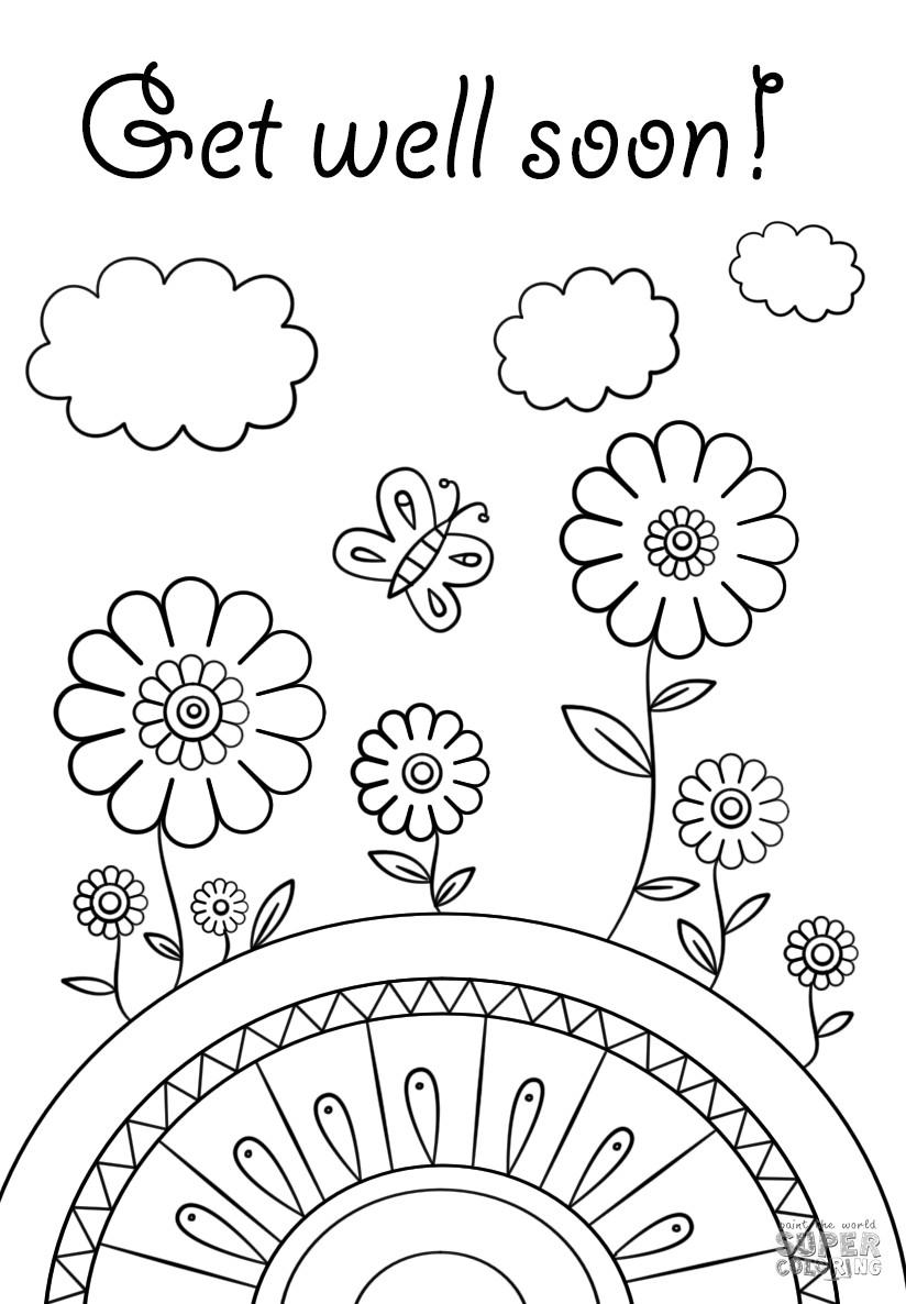 Feel Better Coloring Pages Funny Get - Free Printable