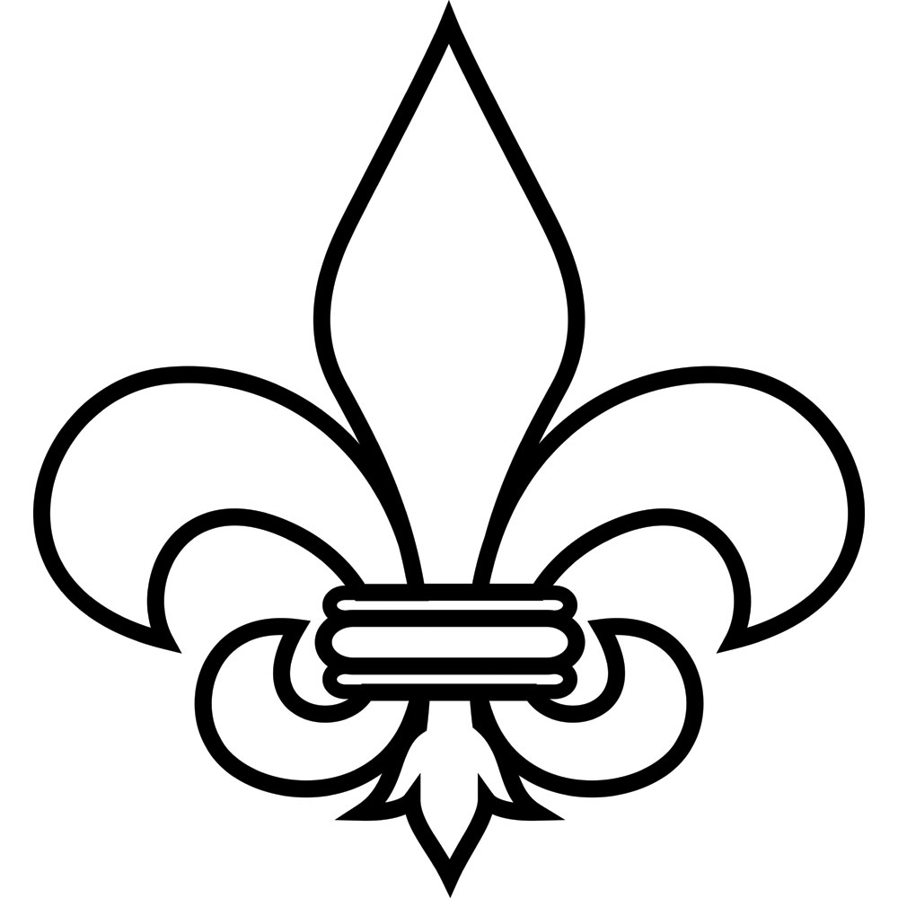 photograph about Fleur De Lis Printable titled Fleur De Lis Coloring Internet pages Gallery Little ones for Small children - Totally free