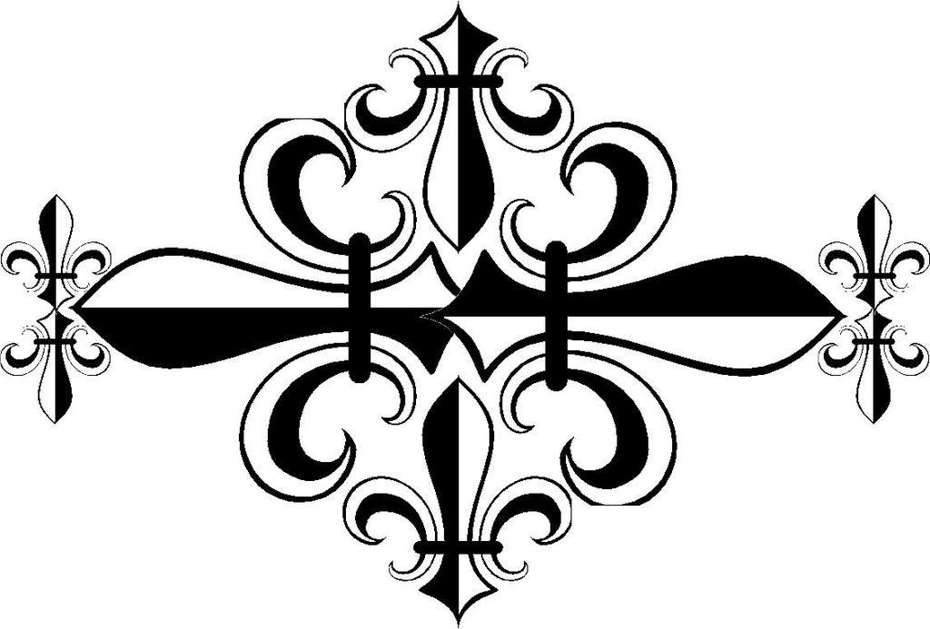 photograph regarding Fleur De Lis Stencil Printable called Fleur De Lis Coloring Webpages Insider Saints Drawings - Free of charge