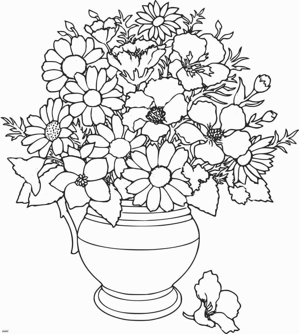 online flower coloring pages - photo#48