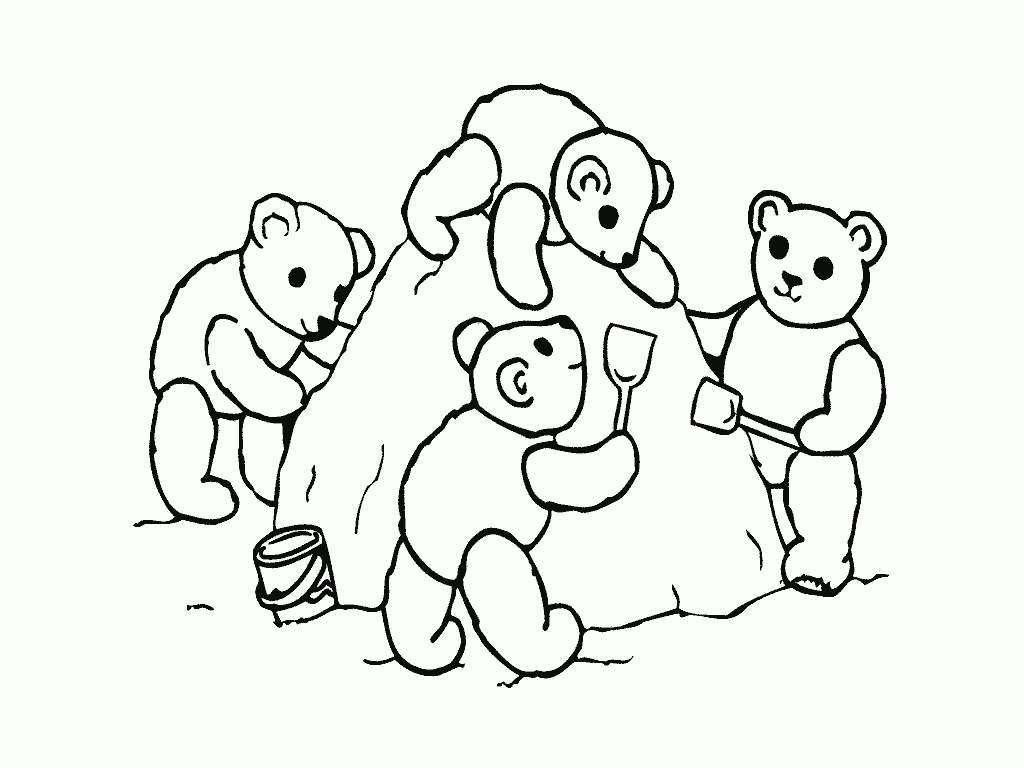 Friendship Coloring Pages Kids Drawings - Free Printable Coloring Pages