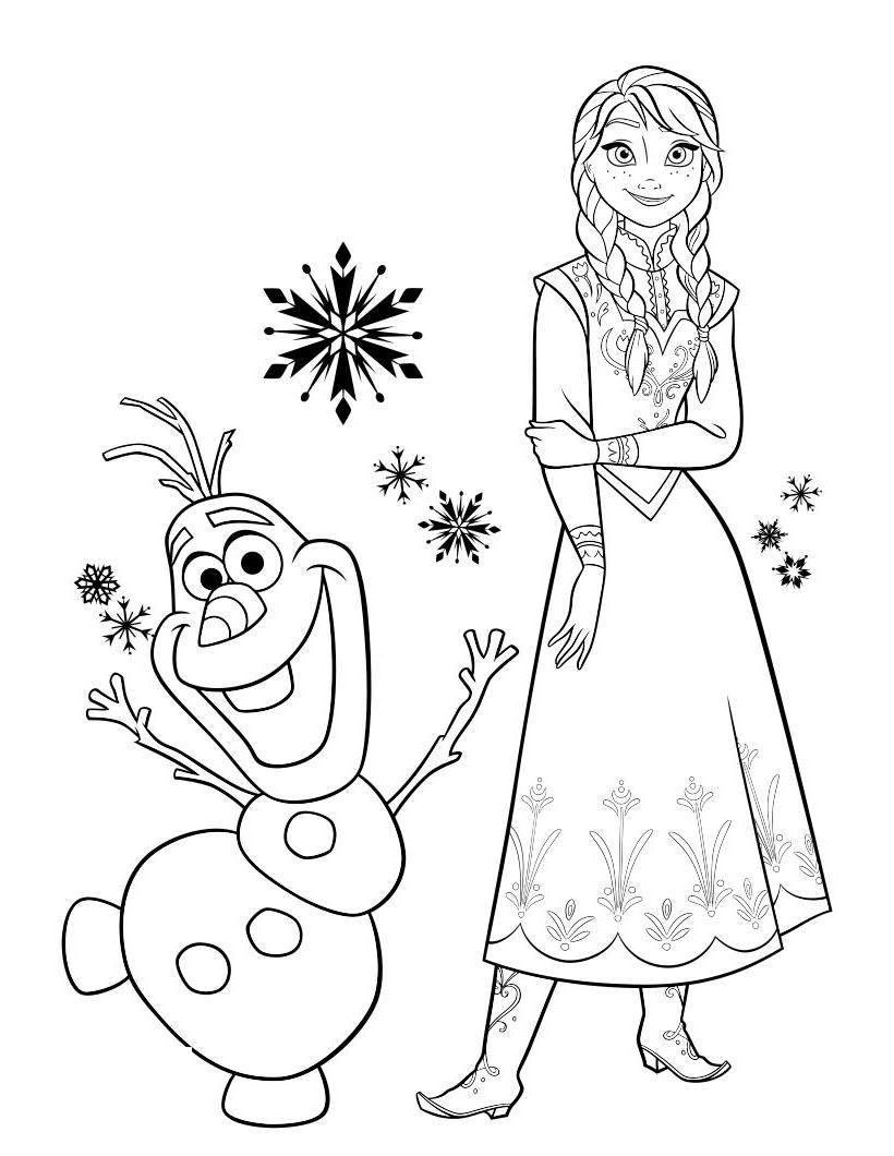 Olaf Nose Coloring Page Free Coloring Pages
