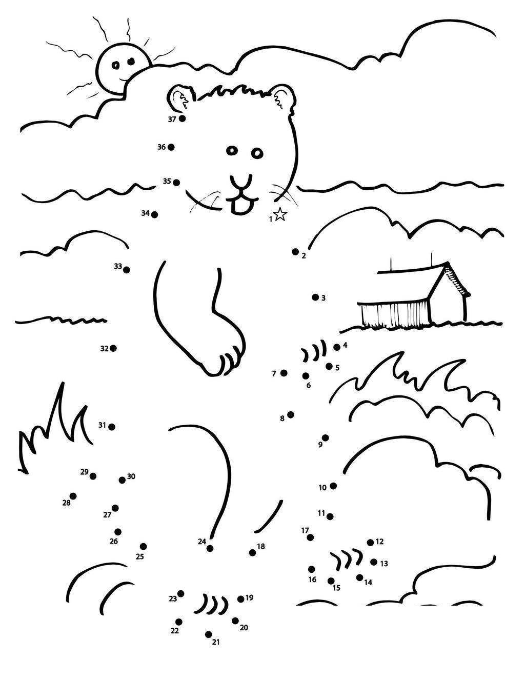 Groundhog Day Coloring Pages s Black and White - Free ...
