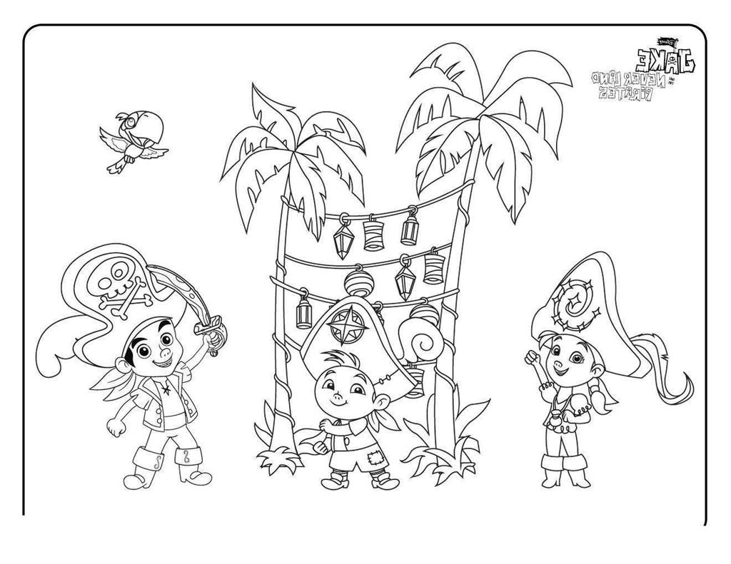 Jake And The Neverland Pirates Coloring Pages Full P ...