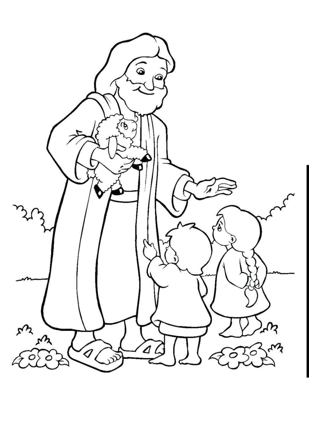 Jesus Loves Me Coloring Pages Easter Activity - Free ...