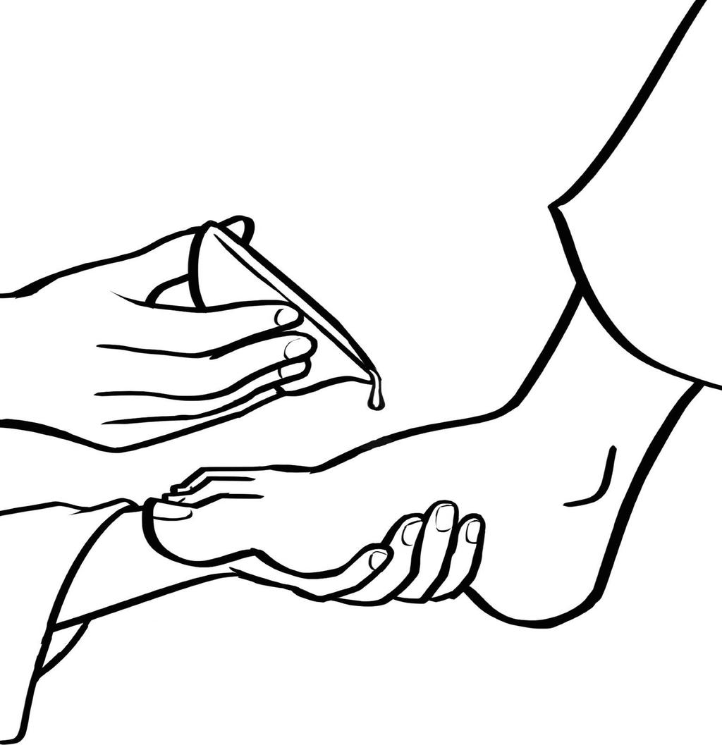Jesus Washing Feet Coloring Pages His Disciples Free Printable