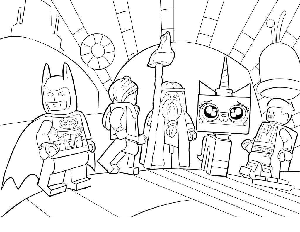 Lego Superhero Batman Coloring Pages Marvel Agents - Free Printable ...