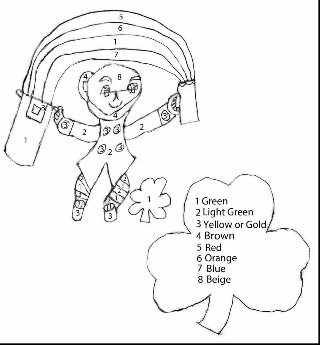 Leprechaun Coloring Pages Aprenda Co - Free Printable Coloring Pages