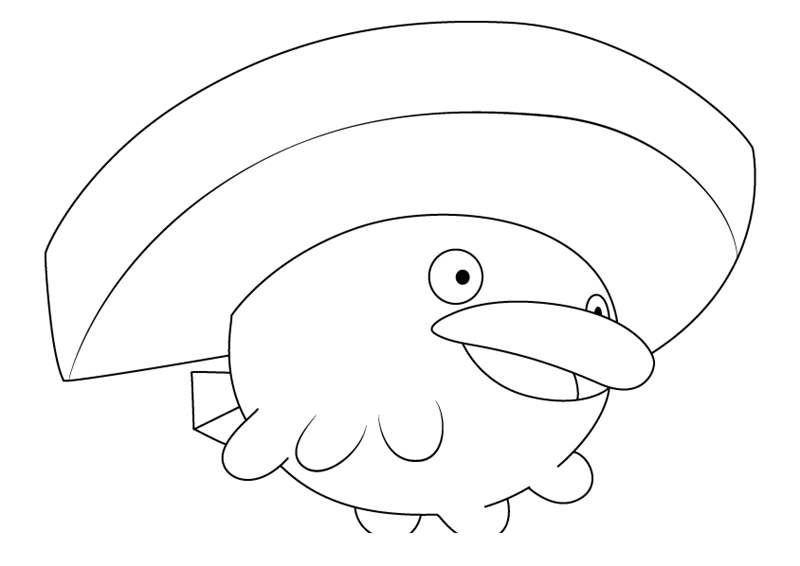 Free Lotad from Pokemon Coloring Pages printable