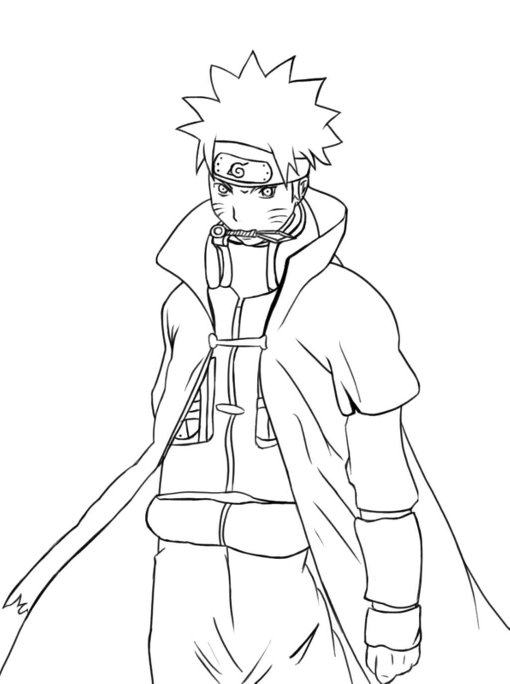 Naruto Coloring Pages Awesome Uzumaki