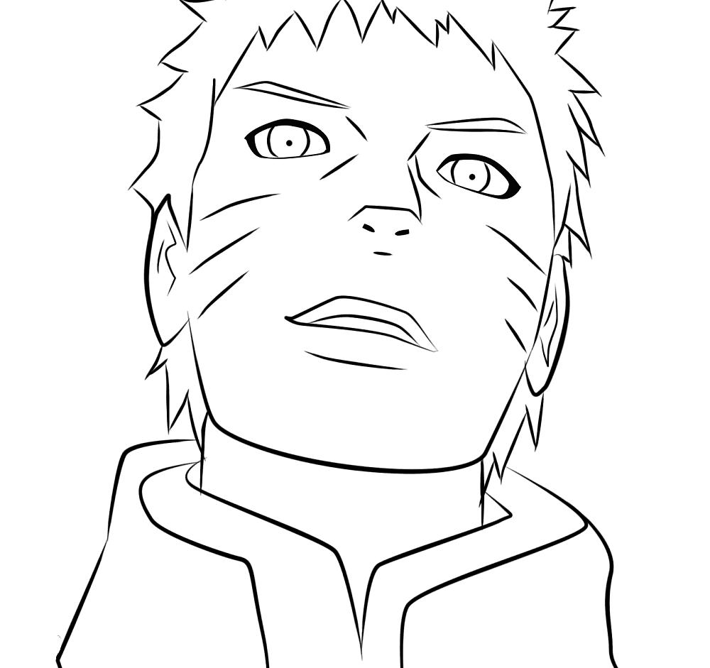 Naruto Coloring Pages Beingthere Me Hand Drawing - Free ...