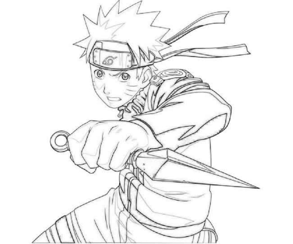 Free Naruto Coloring Pages Publimas Co for Adults printable