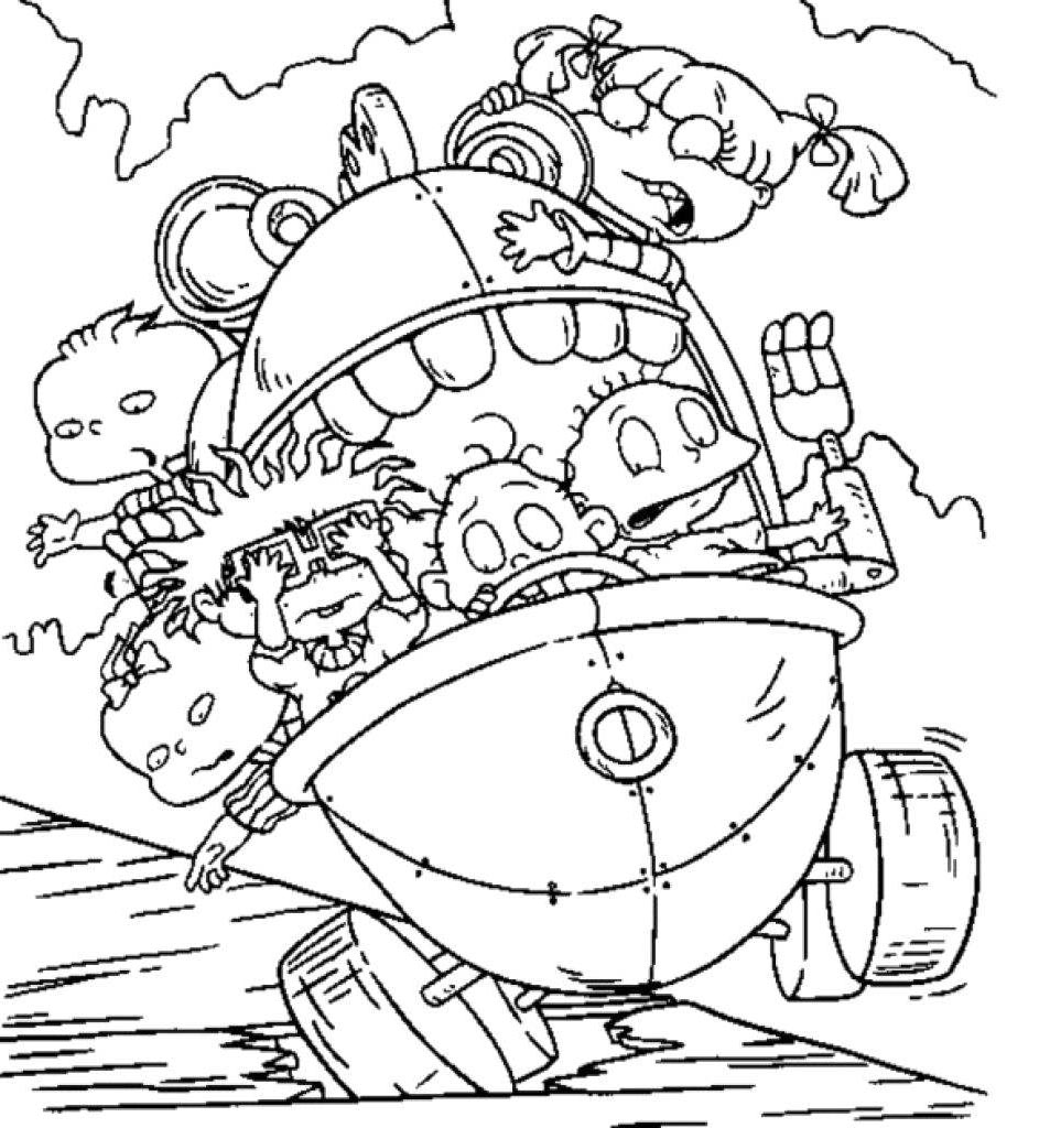 nickelodeon coloring pages - photo#24