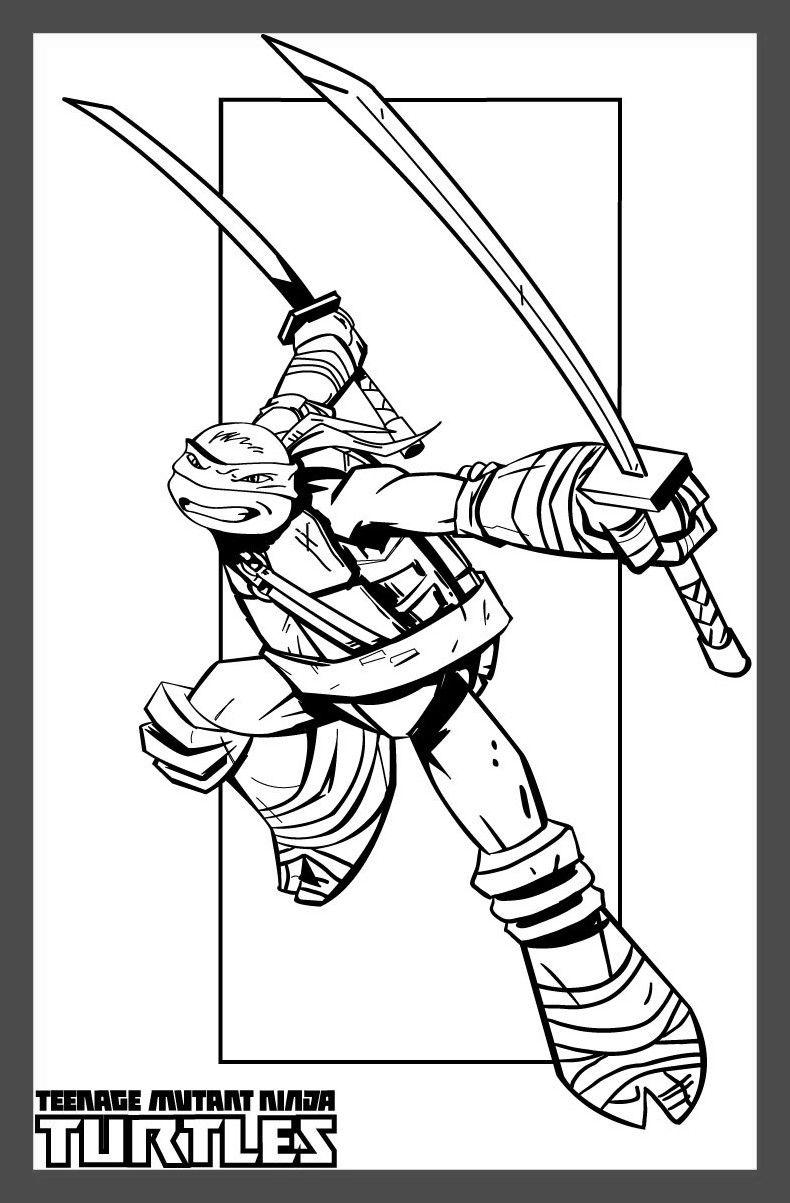 graphic about Ninja Turtles Printable Coloring Pages titled Ninja Turtles Coloring Internet pages Mechanically Tmnt - Cost-free