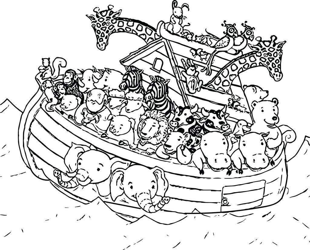 graphic regarding Printable Noah's Ark Coloring Pages identify Noah The Ark Coloring Internet pages Noahsp And Clipart - Absolutely free