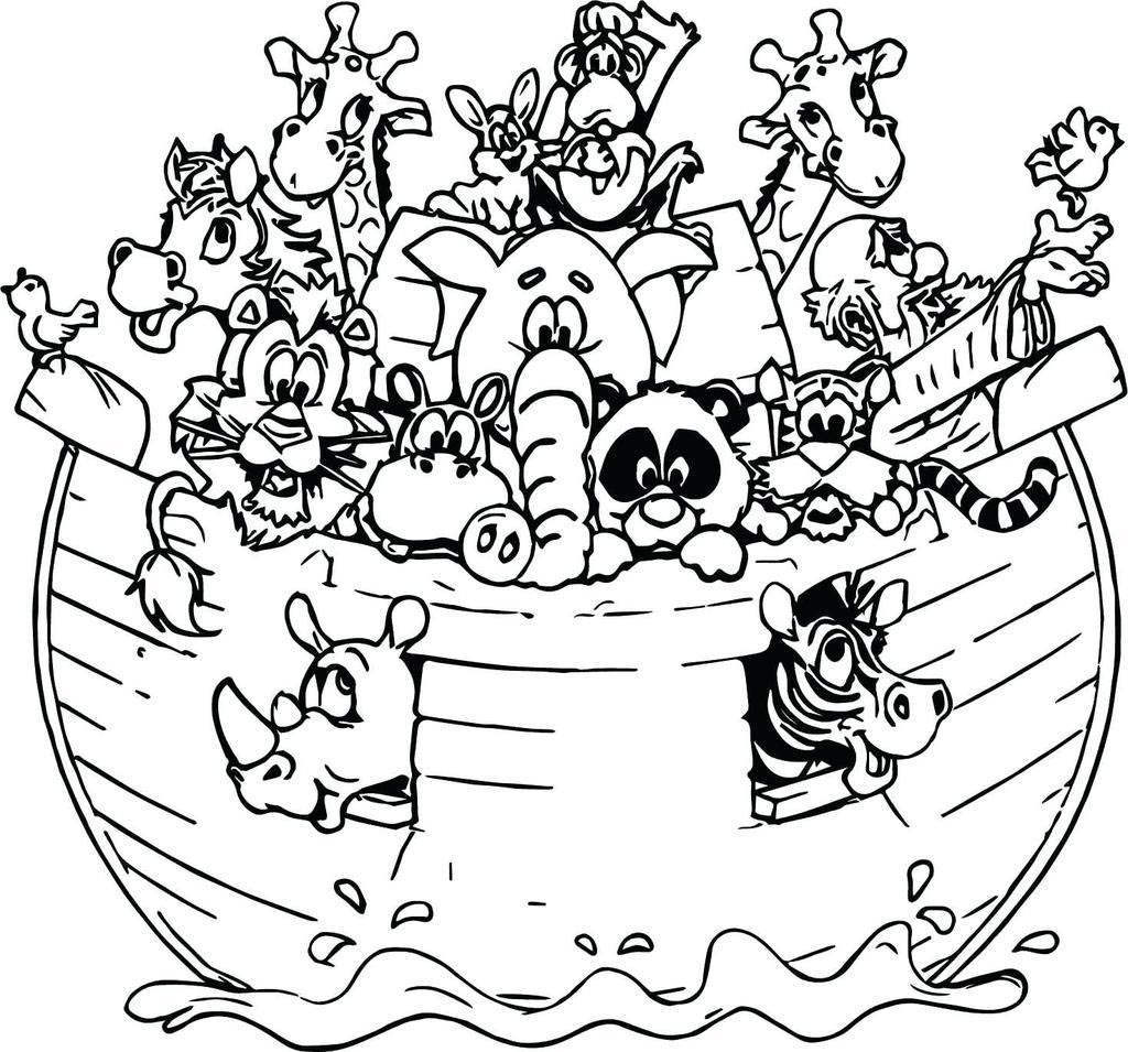 image relating to Free Printable Pictures of Noah's Ark referred to as Noah The Ark Coloring Web pages Redgrillo Sketch - Absolutely free