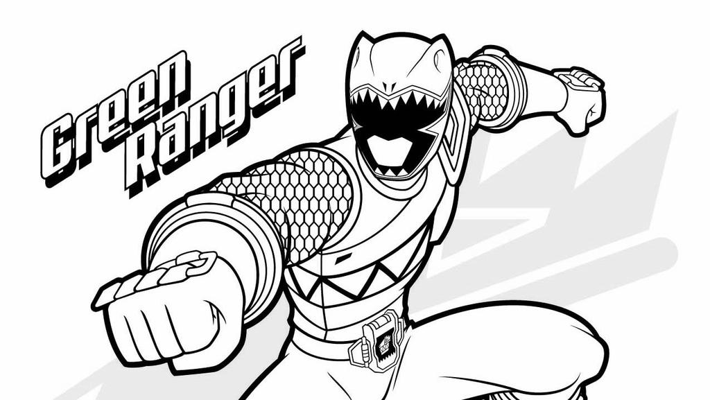 Power Rangers Samurai Coloring Pages Boys And