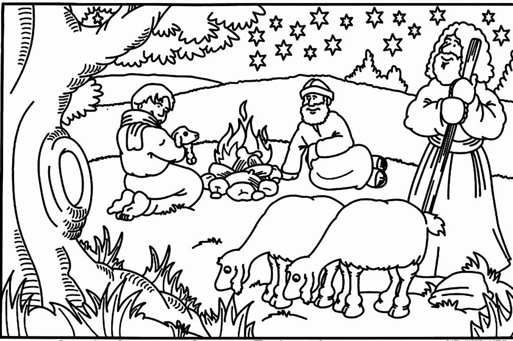 Preschool Bible Coloring Pages Children Gallery Free Printable