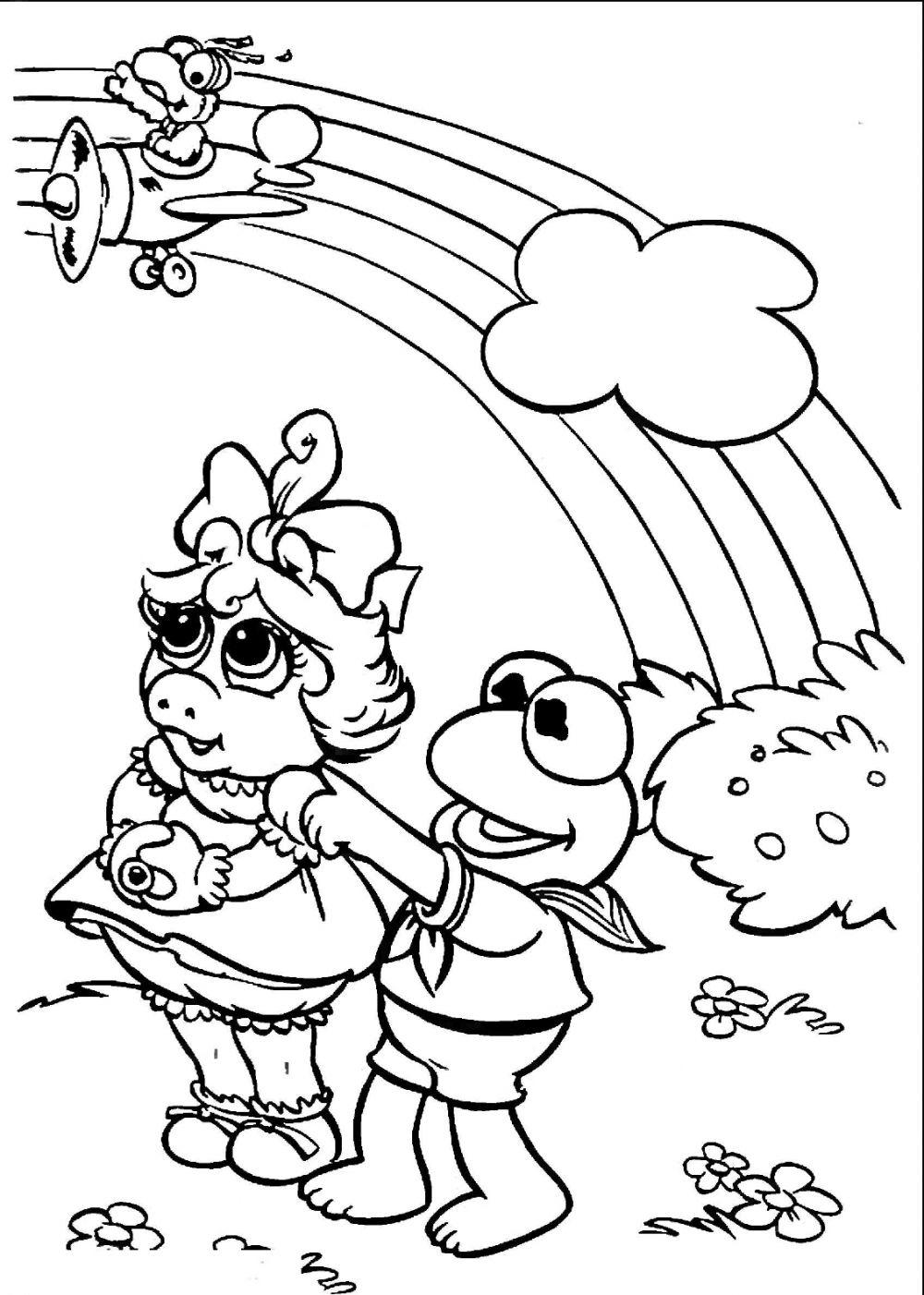 Rainbow Magic Coloring Pages Fairy
