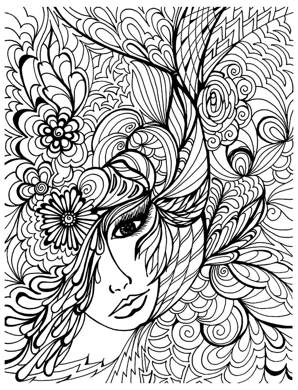 Relaxation Coloring Pages Pdf Andrew Free Printable Coloring Pages