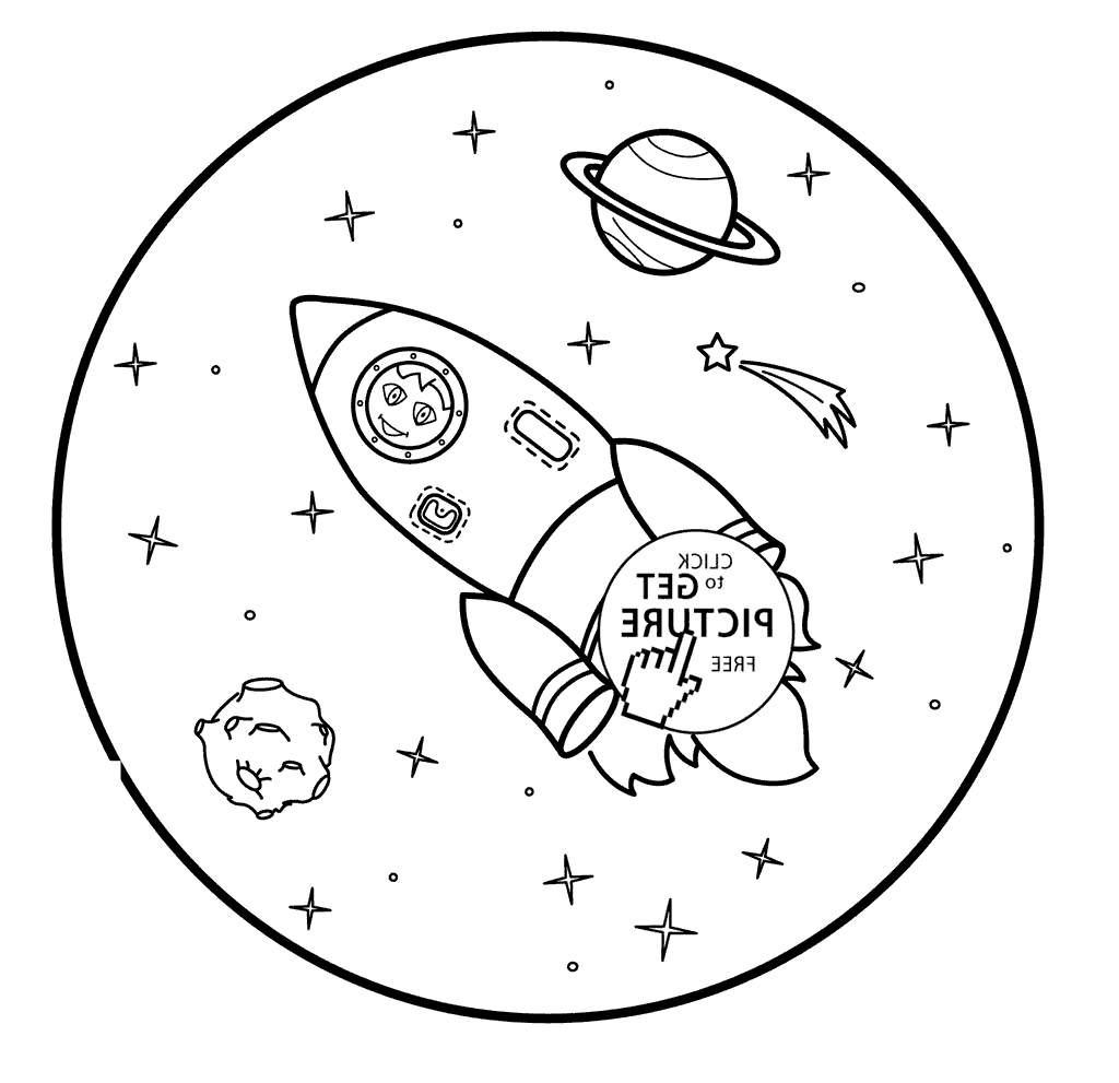 photograph about Rocket Ship Printable named Rocket Deliver Coloring Web pages Drawing Small children Game - Absolutely free