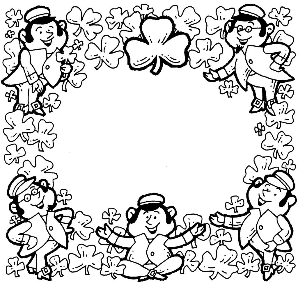Saint Patrick Coloring Pages Catholic St - Free Printable Coloring Pages
