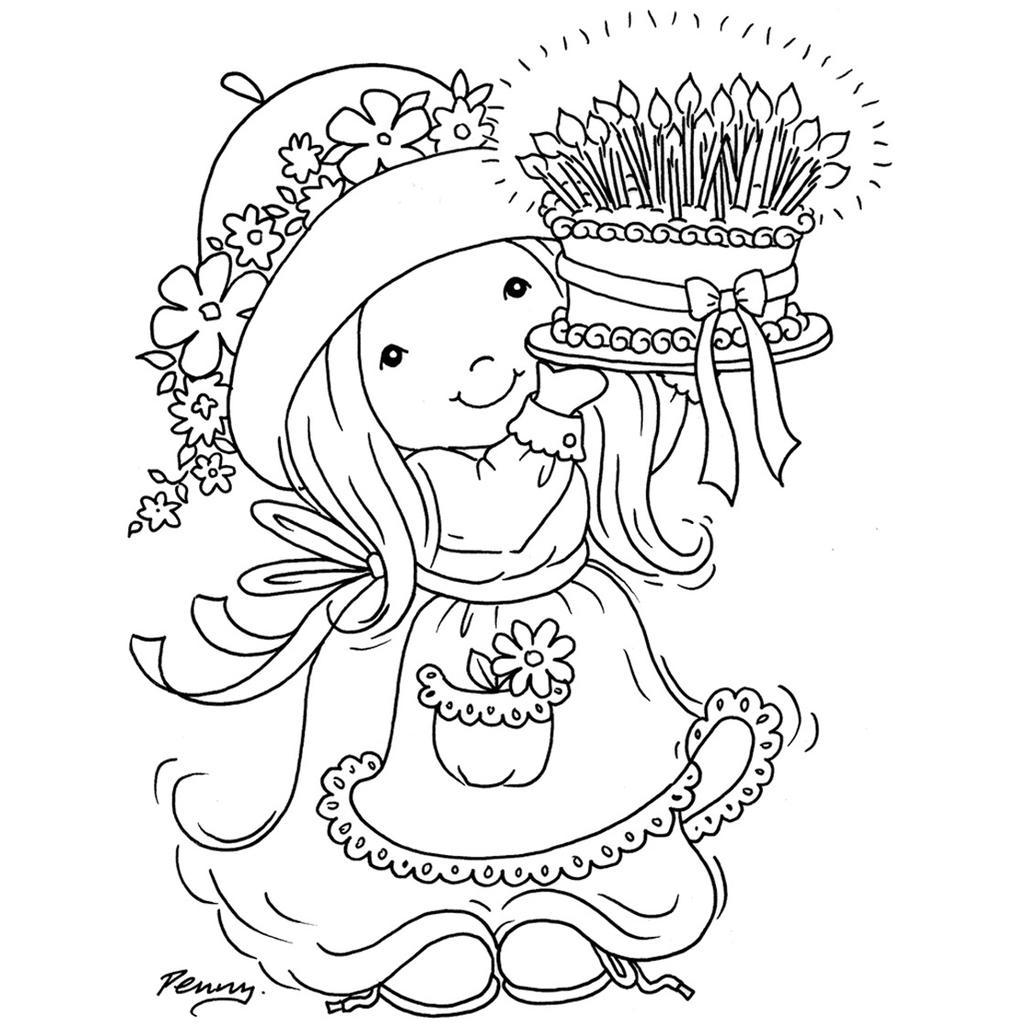 Sarah Kay Coloring Pages Cartoons for Kids - Free Printable ...