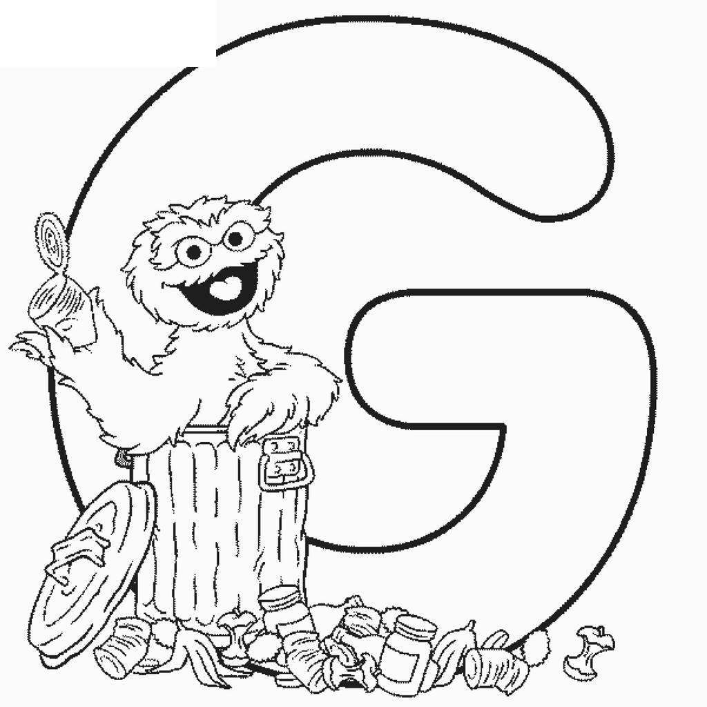 Sesame Street Coloring Pages And Ruva Lineart Free Printable