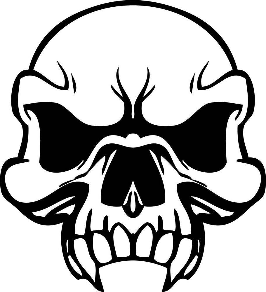 Skulls Coloring Pages Modest Flames